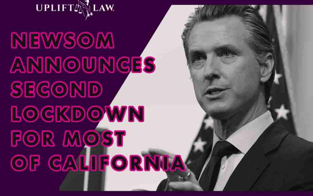 Governor Newsom Orders 2nd Lockdown For Most of California Amid Skyrocketing Covid Cases and Limited ICU Capacity