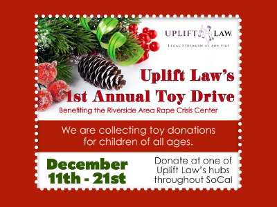 Announcing Uplift Law's 1st Annual Toy Drive