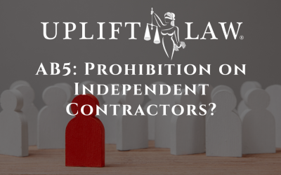 AB5: Prohibition on Independent Contractors?
